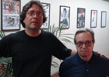 Luiz Agner e Luiz Trimano - 2007