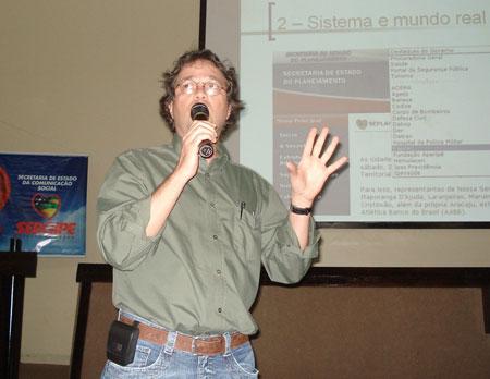 Luiz Agner - Workshop em Aracaju, Sergipe - 2007.