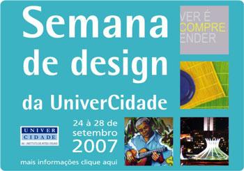 Semana de Design da UniverCidade