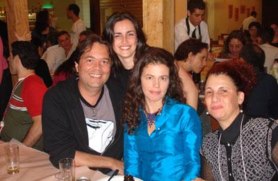 Rosana, Virgínia e Mônica Moura em Curitiba (SBDI)