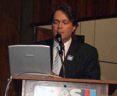 Palestra de Luiz Agner no Palácio do Planalto, Brasília.