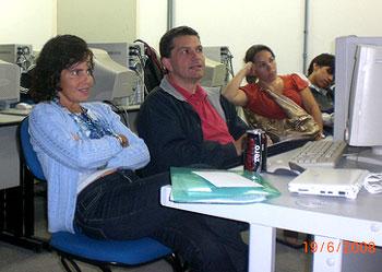 Palestra de Luiz Agner na UniRio - junho 2008.