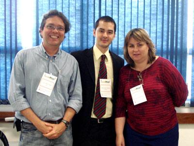 Agner, Felipe e Andrea Filatro 2008