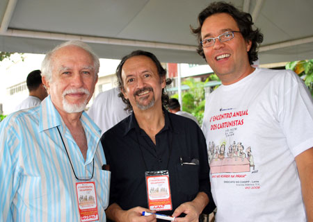 Guidacci, Nani e Agner no Sindicato do Chopp, 2008.
