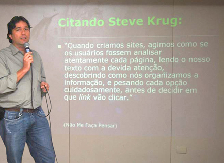 Luiz Agner - Palestra na FioCruz