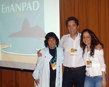 Agner, Simone Bacellar e Patrícia Tavares (ENANPAD 2010)