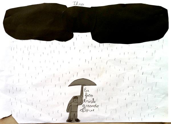 Desenho do Theo.