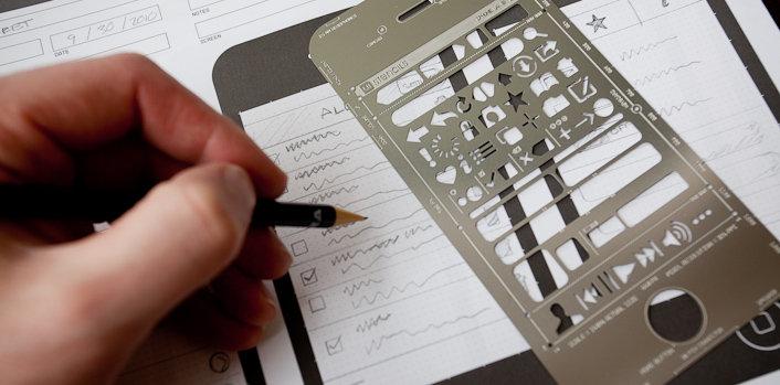 réguas e blocos para criar interfaces