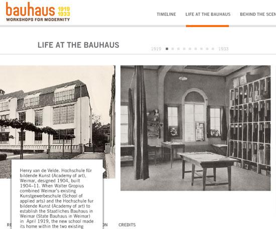 Bauhaus: workshops para a modernidade