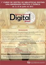 Cartaz Curso Bibliotecas Digitais BN