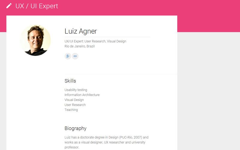 Página Google Developers Top Experts -UX/UI - Luiz Agner