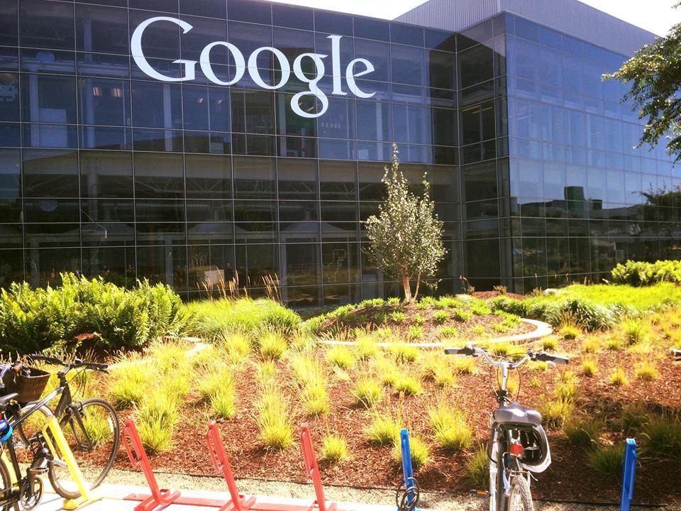 Google Headquarters, Mountain View, CA.